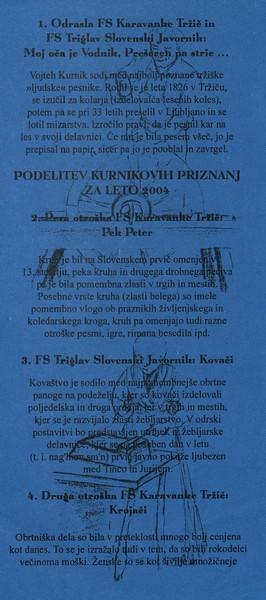 KD Folklorna skupina Karavanke 2004 Koncert En mojster kselu pravi vabilo 3c