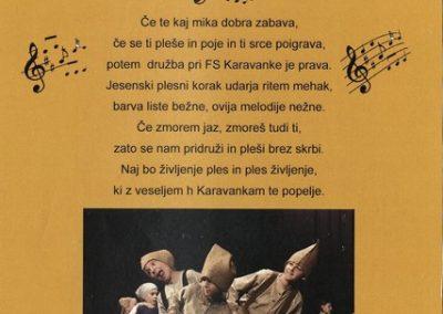KD Folklorna skupina Karavanke povabilo k vpisu novih članov 3